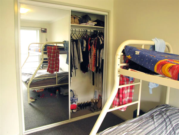Bedrooms with wardrobes